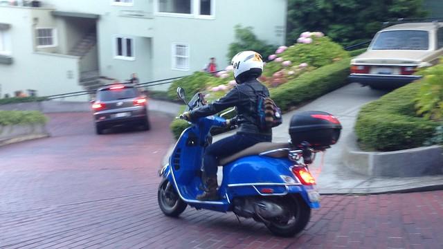 Car Detouring and San Francisco. Sept 2-7, 2014.