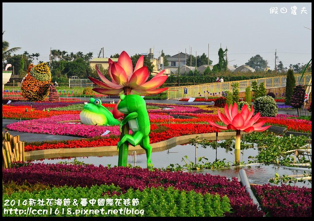 2014新社花海節&臺中國際花毯節DSC_4875