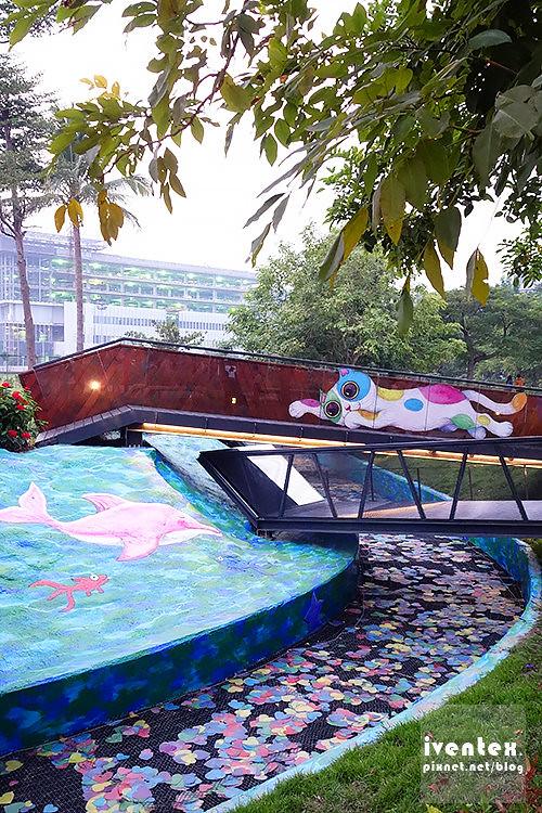 20刀口力台南善化南科幾米裝置藝術小公園