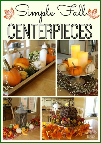 HDH 35 Fall Centerpieces
