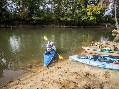 Savannah River from Stokes Bluff with LCU Nov 7, 2014, 4-18 PM Nov 8, 2014, 9-12 AM