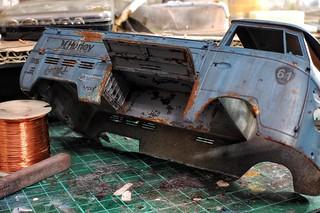 【玩具人'聯合艦隊大本營'投稿】Hasegawa長谷川 1/24 volkswagen type 2 pick up