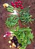 summer solstice garden bounty