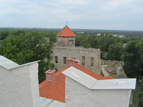 skyline latvia cesis balticstate newcesiscastle