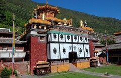 CHINE Ouest SICHUAN de Kangding à Dawu