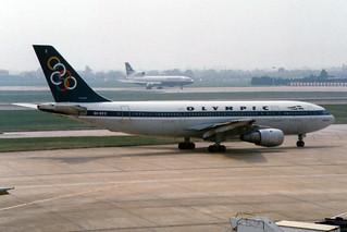 "Olympic Airbus A300B4-203 SX-BEE ""Nestor"""