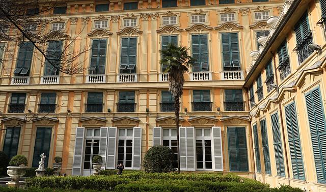 Palazzo Bianco (dal cortile interno) - Genova