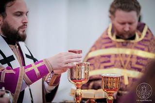 Литургия в Спасском соборе 530