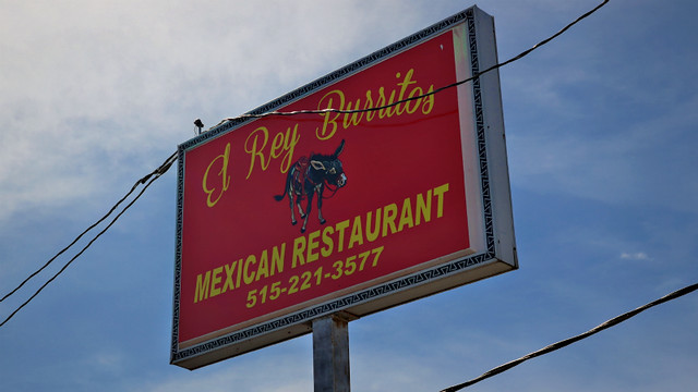 El Rey Burritos in West Des Moines, Iowa