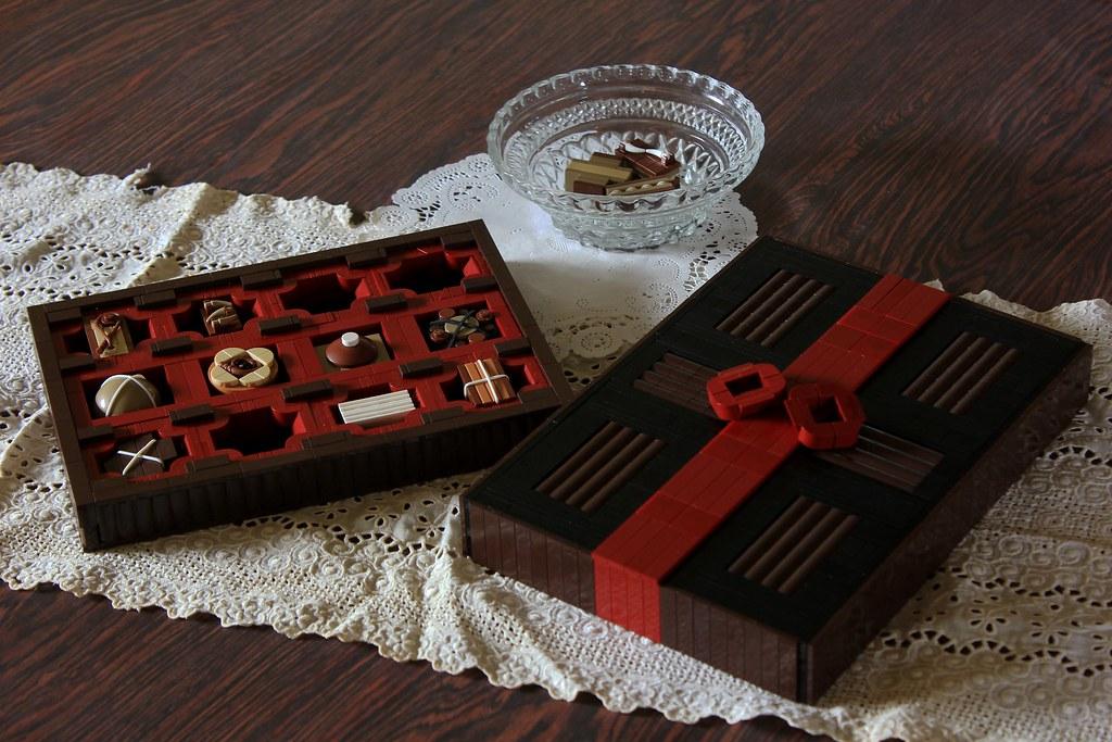 Sumptuous Sweets (custom built Lego model)