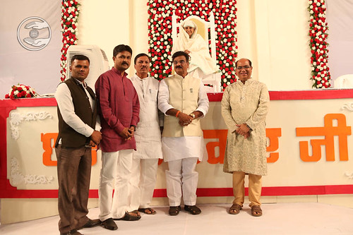 Welcome by Minister of Water Recourses, Maharashtra