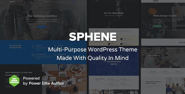 Sphene WordPress Theme free download