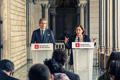 Jue, 06/04/2017 - 21:11 - Ada Colau es reuneix amb el ministre de Foment, Íñigo de la Serna