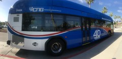 Riverside Transit Agency #31604 40th anniversary livery