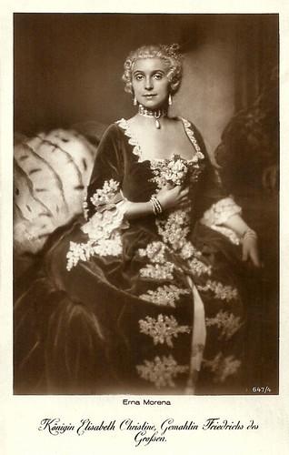 Erna Morena in Fridericus Rex (1921-1922)
