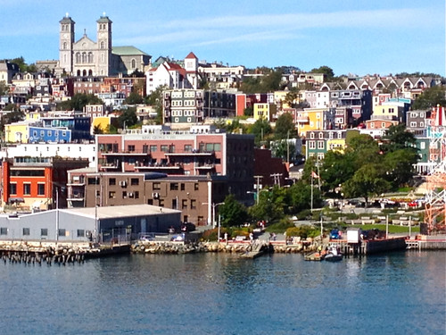 Canada St John's view from Harbour