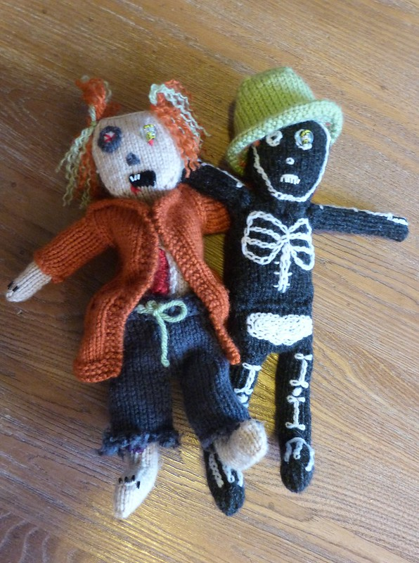 Little Halloween Dolls