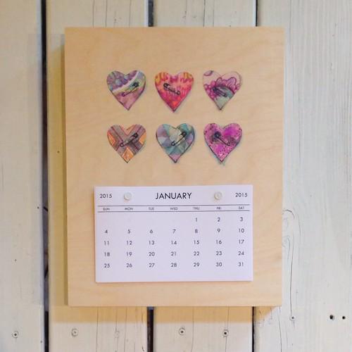 Hearts - 2015 Calendar