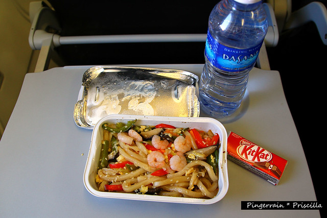 Inflight Food - Udon Noodles