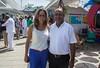 La Ministra Parody y el Alcalde de Manati en la inauguración del CDI La Inmaculada