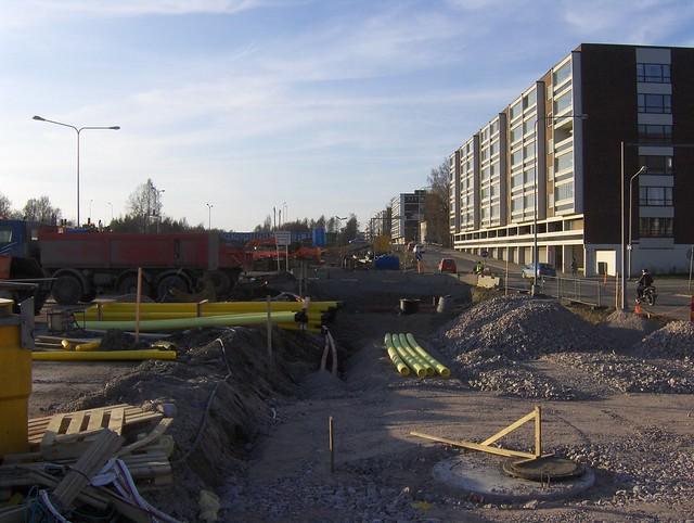 Hämeenlinnan moottoritiekate ja Goodman-kauppakeskus: Työmaatilanne 22.4.2012 - kuva 11