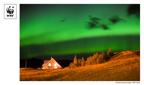 WWF-Canon Pic of the Week: The northern lights in Iceland