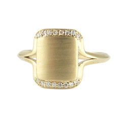 Square Ribbon Ring - Front - Line_1