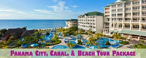Panama City, Canal, and Beach Tour Package