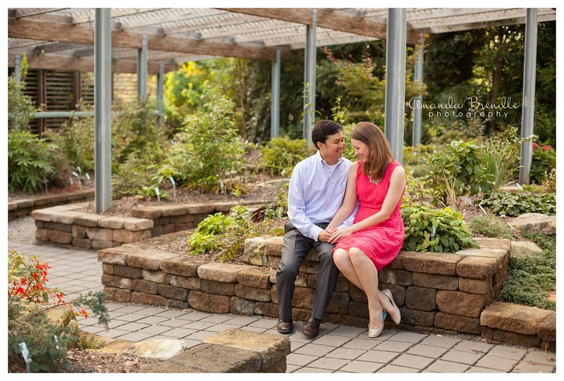 Max & Heather - Raleigh Engagement Photographer - Amanda Brendle Photography