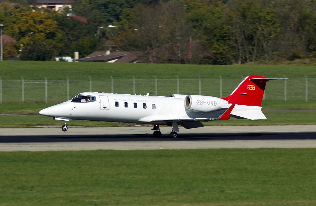 Learjet 60 Républic of Macedonia 15100197564_0be8b177a4_b