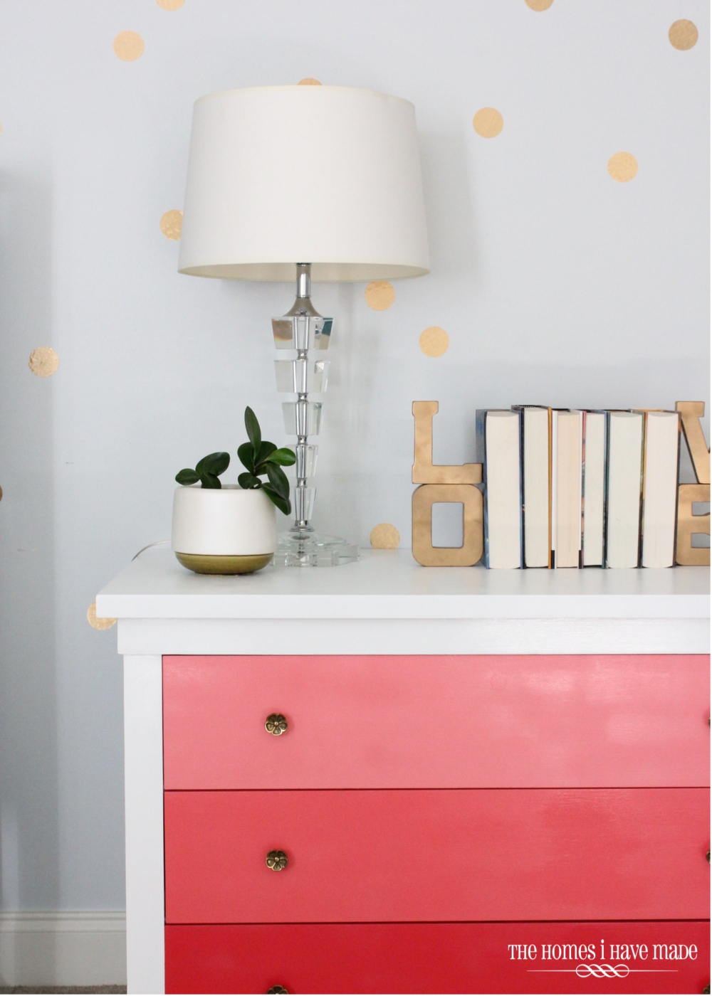 Pink Ombre Dresser-019