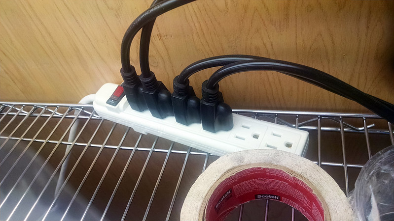 Power strip.