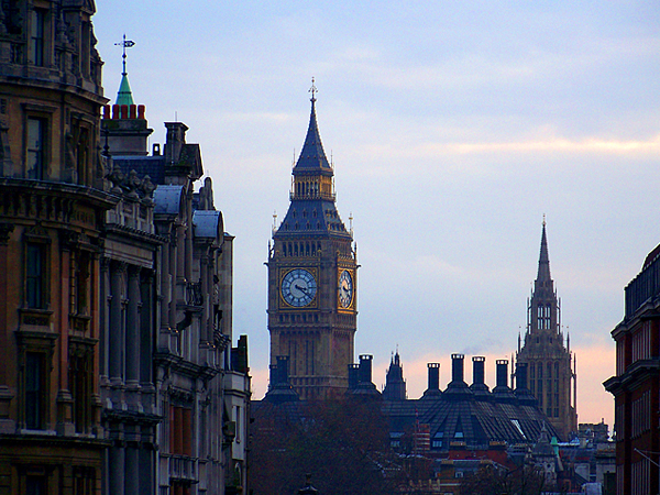 El bigben de Londres algo que podré ver si consigo la VISA de viaje a Europa
