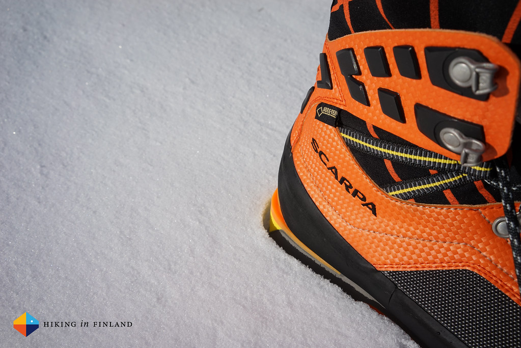 Sony A7R - Scarpa Rebel Ultra Gtx in the snow