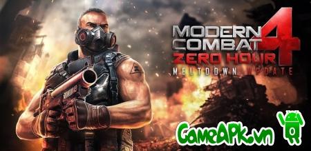 Modern Combat 4: Zero Hour v1.2.0f hack full cho Android