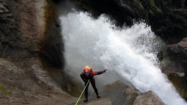 Canyoning in Hautes Alpes, Alpes-de-Haute-Provence and Val di Susa (France/Italy, sep2014)