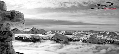 winter blackandwhite canada ski mountains whistler skiing snowy britishcolumbia skiresort backcountry inukshuk blacktusk blackcomb whistlerblackcomb inuksuk garibaldinationalpark deepwinter