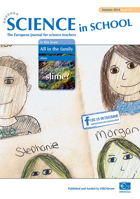 Cover of Science in School 30 — Autumn 2014 from Flickr via Wylio