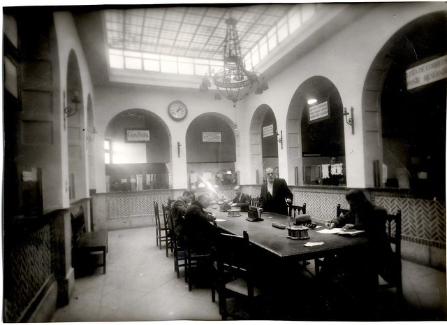 Oficina de Correos © Fondo Rodríguez de la JCCM, Archivo Histórico Provincial de Toledo. Signatura Album1-079