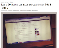 Les 100 blogs les plus influents de France
