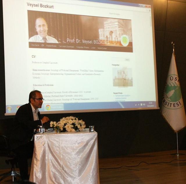 Modernleşme ve Değerler konferansı yapıldı. 2