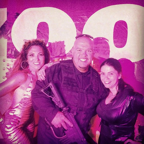Halloween party w/ @djlaz973 @kimmyb973 #HITS973