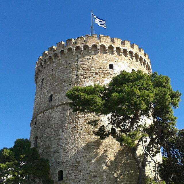Me ollaan Thessalonikissa!
