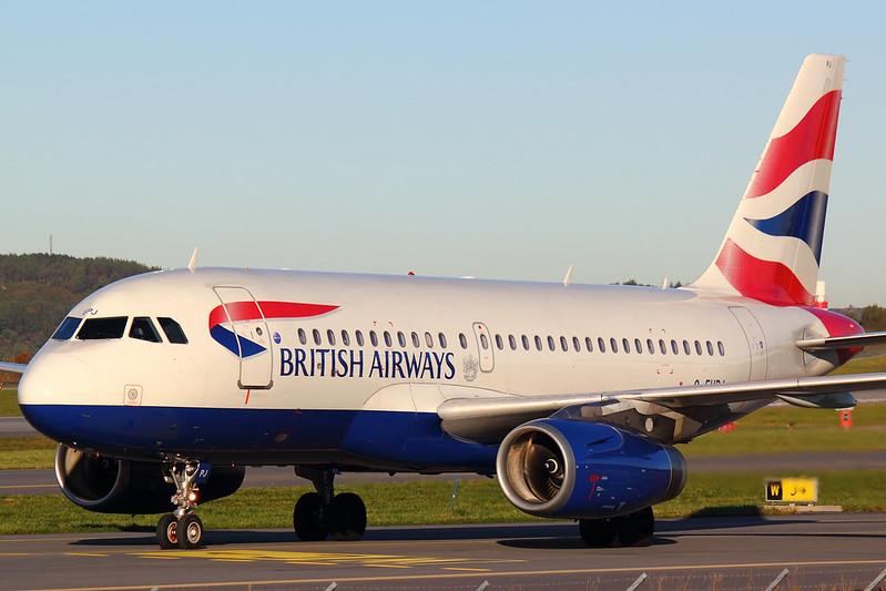 British Airways - A319 - G-EUPJ (1)
