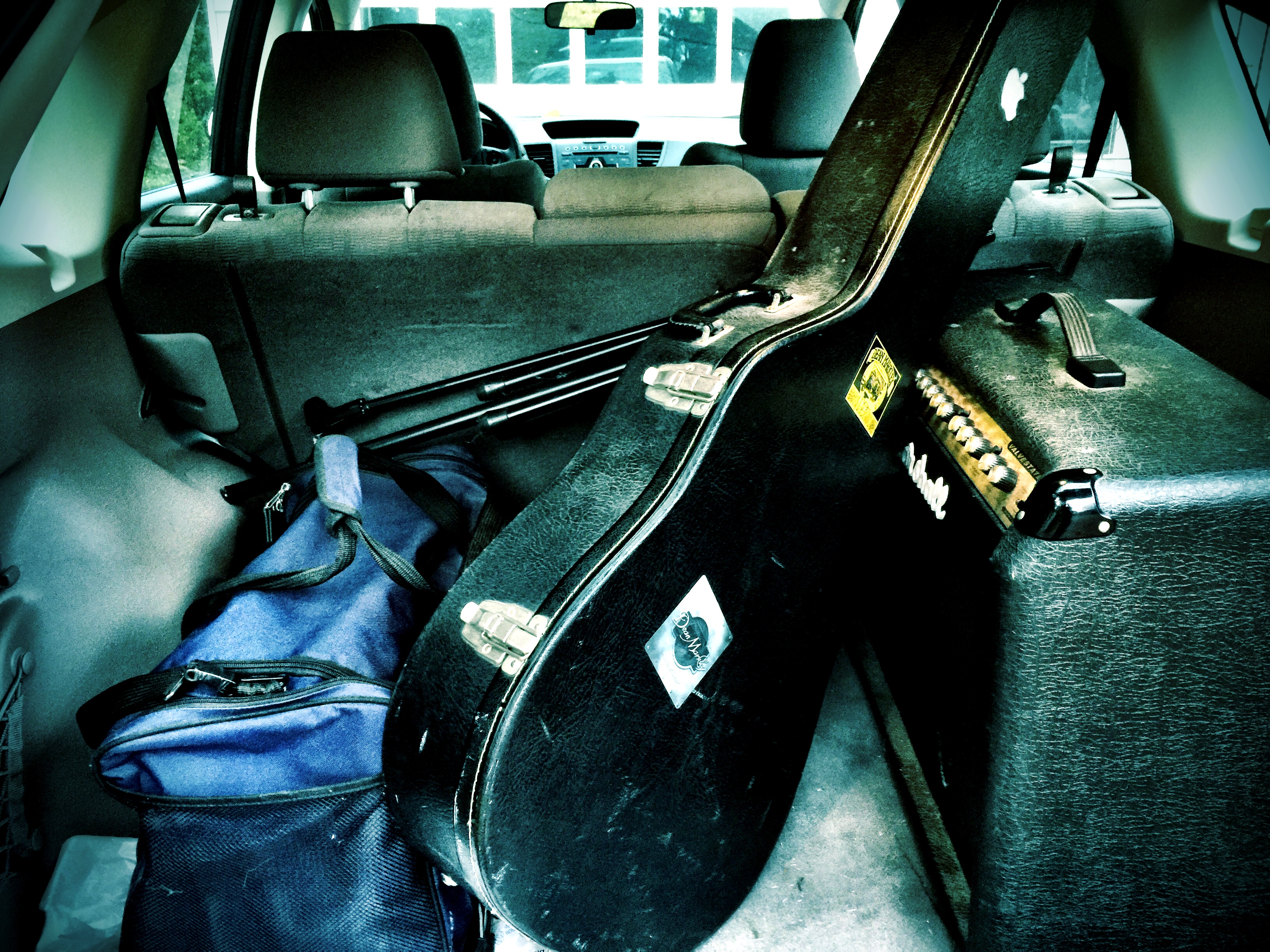 Heading to my first band practice in more than two years.