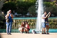 Selfies | City Park, Barcelona Spain
