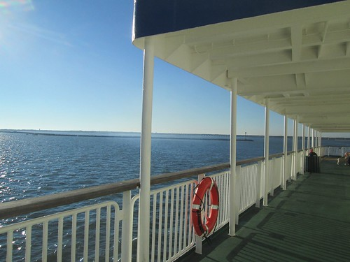 View from the MV Cape Henlopen ferry to Cape May, NJ