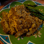 Pumpkin Baked Ziti with Caramelized Onions and Sage Crumb Topping