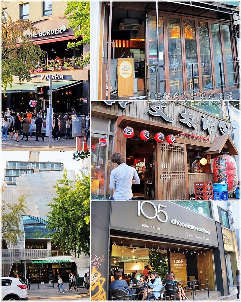 21大使館街道中西融合的文化餐館