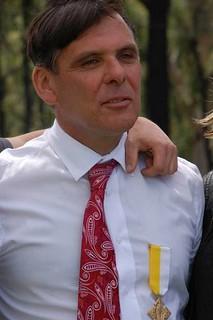 Serge Rosato Gold Papal Medal